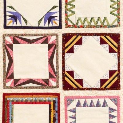 Paper Pieced Quilt Labels #9