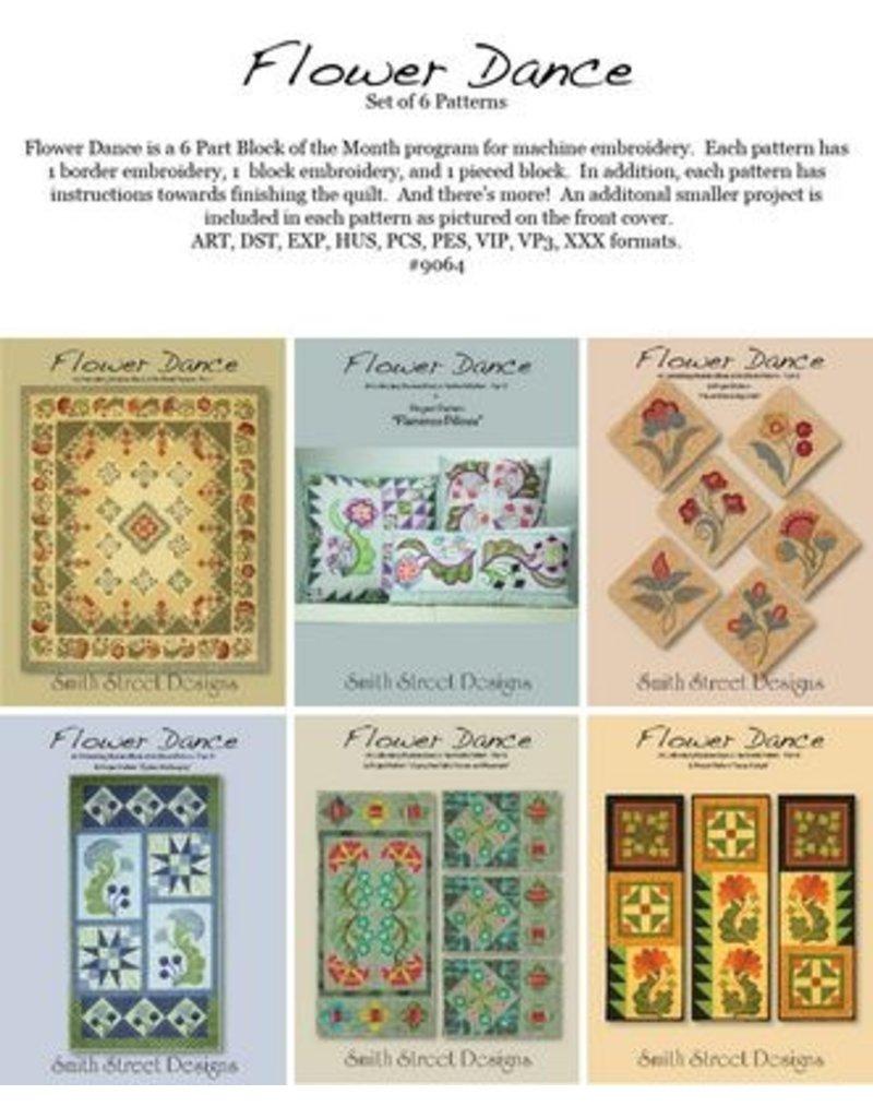 Flower Dance BOM - Set of 6 Patterns