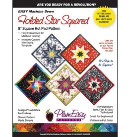 Square Folded Star Hot Pad