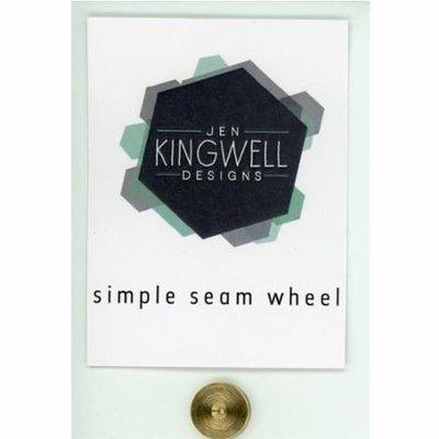 """Jen Kingwell Designs Simple Seam Wheel 1/4"""""""