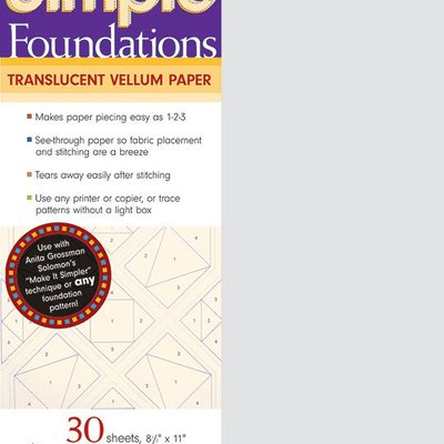 C&T Publishing Simple Foundations Letter Size 8 1/2 x 11