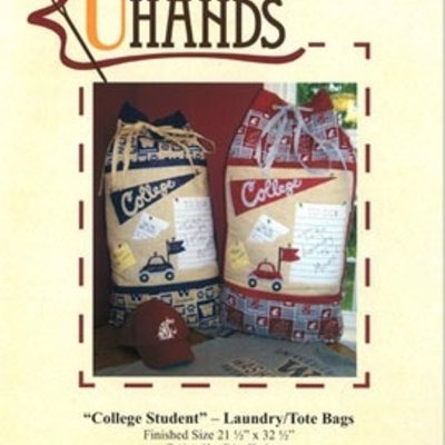 College Student Laundry/Tote Bags