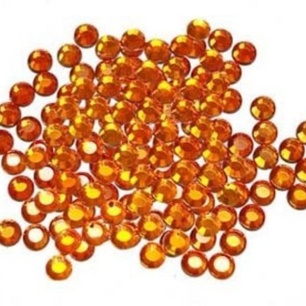 Hot Fix Crystals  (4mm) - Sun<br /> Hot Fix Crystals  (4mm) - Sun