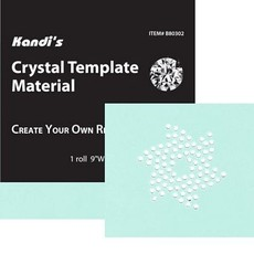 Crystal Template Material 9 X 36 Roll