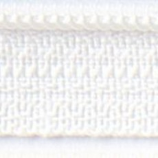 """14"""" Zipper- Marshmallow"""