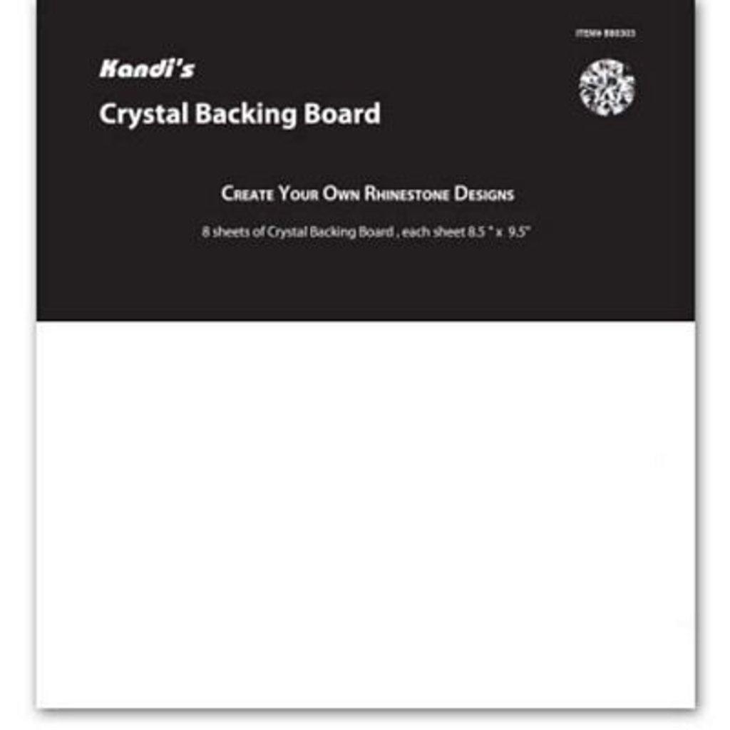 Crystal Backing Board