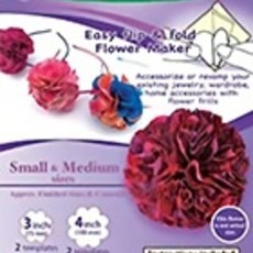 Flower Frill Template-Small & Medium