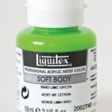 Liquitex® Vivid Lime Green Soft Body Acrylic Paint 2oz. Bottle<br />Series 1A, Opaque