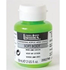 Liquitex® Vivid Lime Green Soft Body Acrylic Paint 2oz. BottleSeries 1A, Opaque
