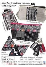 Black & White Ribbon Pack