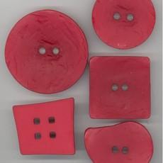 Textured Paisley-Cardinal Red