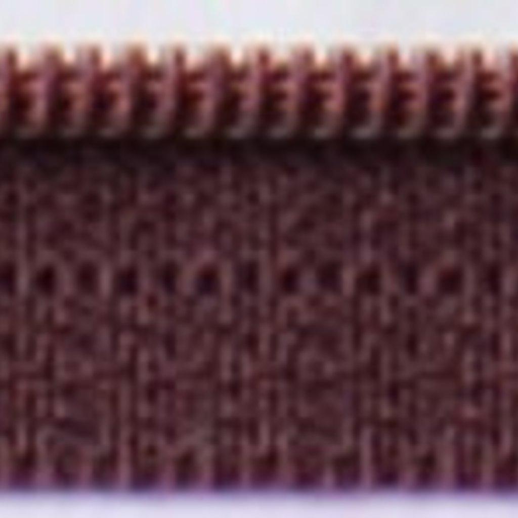 14'' Zipper- Raisin