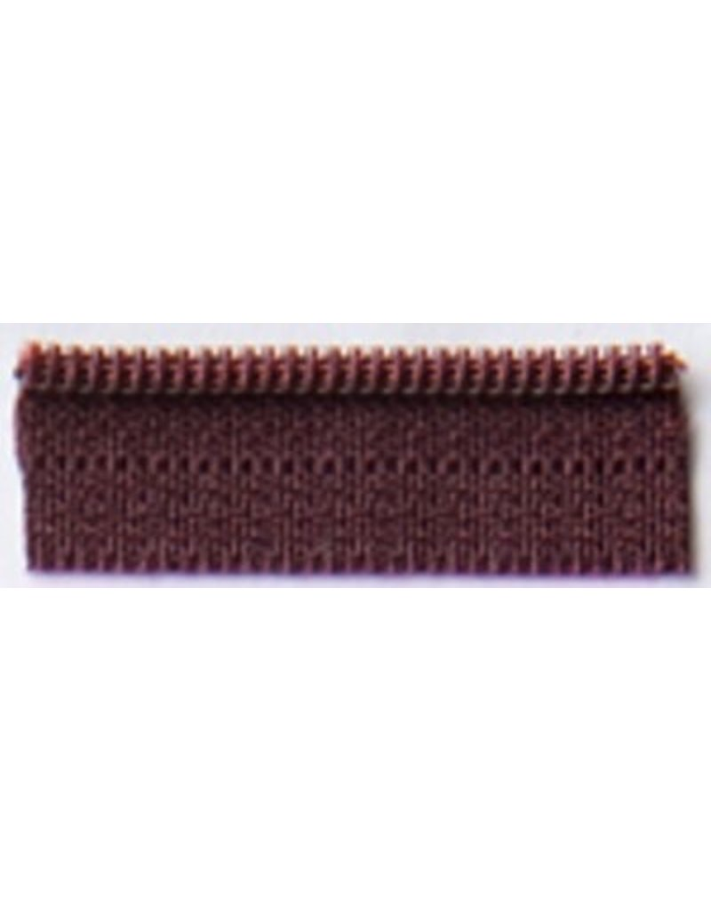 14'' Zipper- Raisin