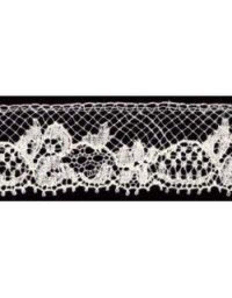 French Lace Ecru by the yard