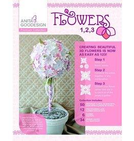 Flowers 1,2,3 Premium Design Pack