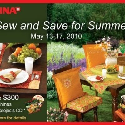 Bernina Sew and Save for Summer CD