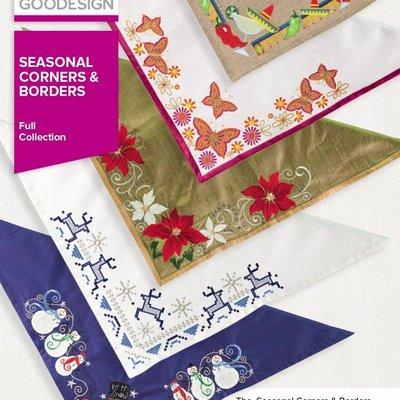 Seasonal Corners & Borders Full Design Pack