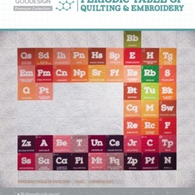 Periodic Table of Quilting & Embroidery Premium Edition