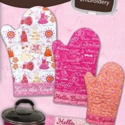 Hot Stuff Oven Mitts