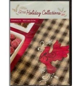 OESD Holiday Collection  #1 2011- Silhouette Quilts