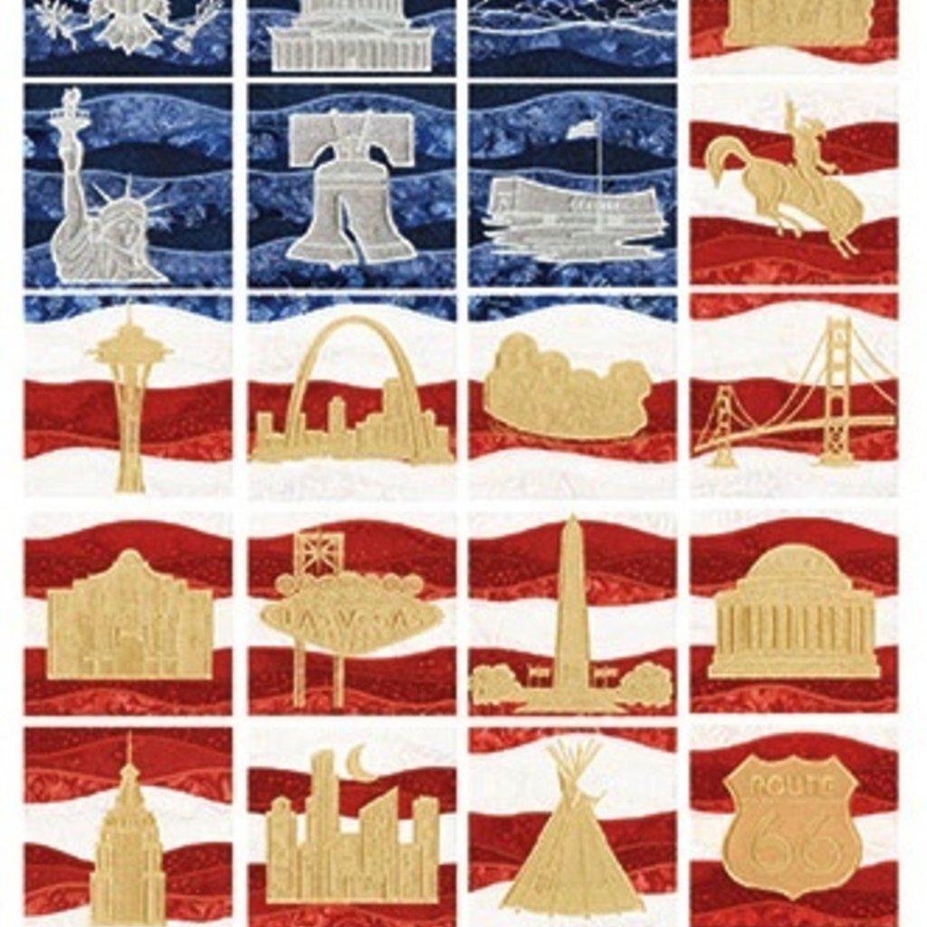 American Landmarks Design Pack