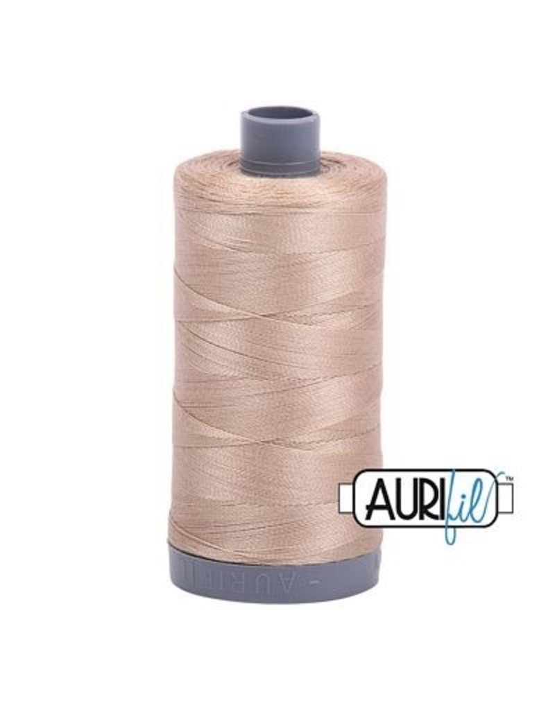 Aurifil 28 wt. Quilting Thread-2326 Sand