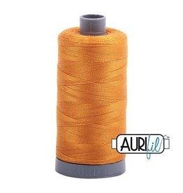 Aurifil 28 wt. Quilting Thread-2140 Orange Mustard