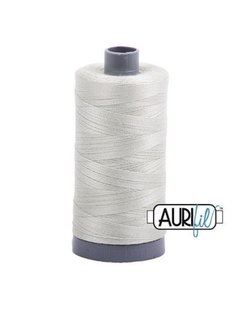 Aurifil 28 wt. Quilting Thread-2843 Light Gray Green