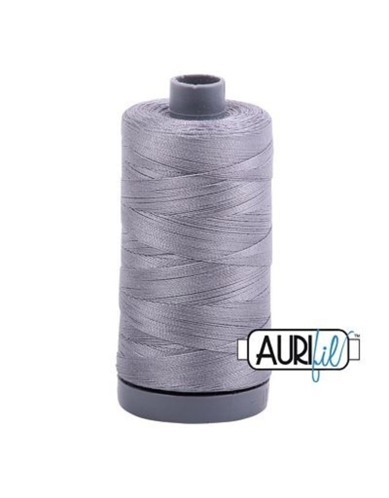 Aurifil 28 wt. Quilting Thread-2605 Gray