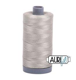 Aurifil 28 wt. Quilting Thread-5021 Light Gray