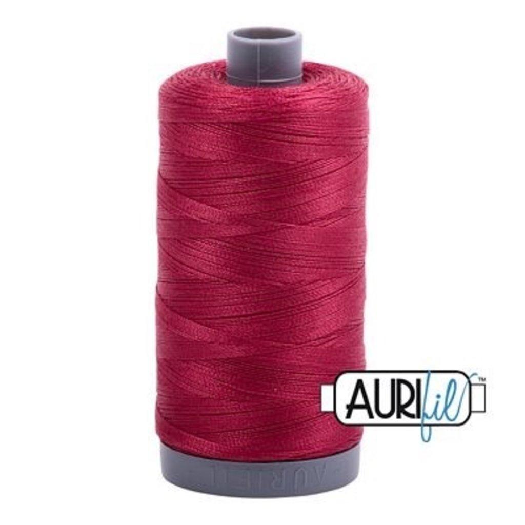 Aurifil 28 wt. Quilting Thread-1103 Burgundy