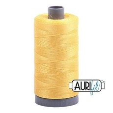 Aurifil 28 wt. Quilting Thread-1135 Pale Yellow