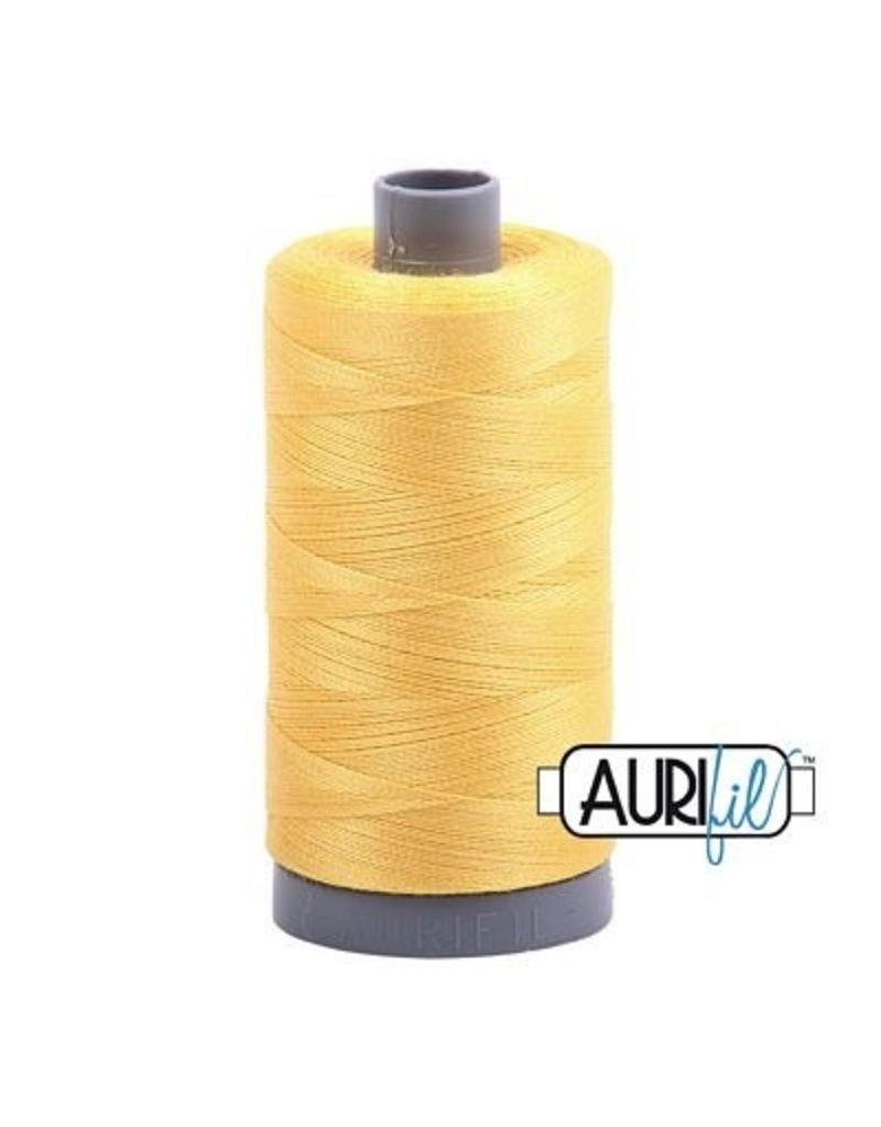 Aurifil 28 wt. Quilting Thread-1135 Pale Yellow