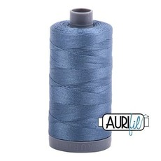 Aurifil 28 wt. Quilting Thread-1126 Blue Gray