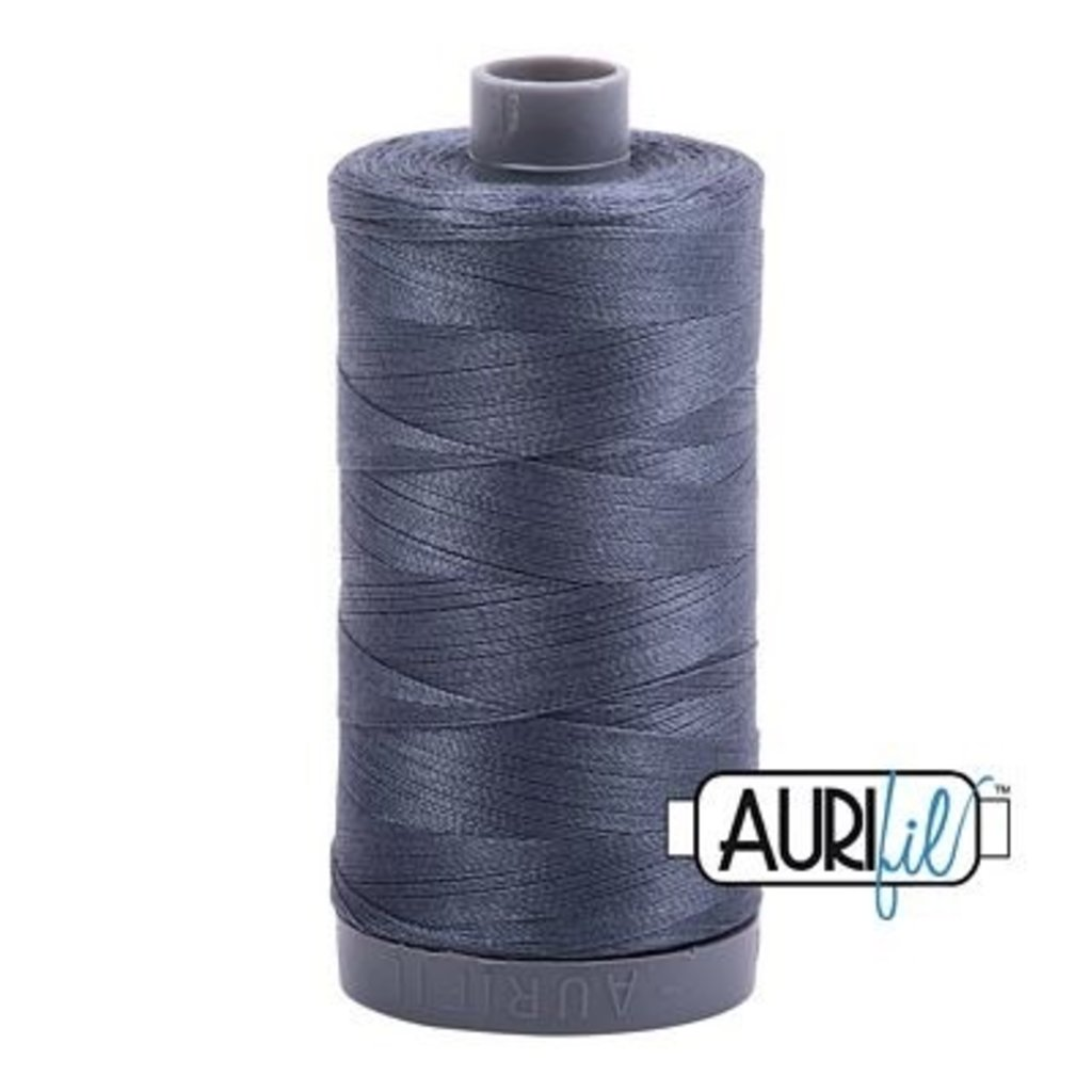 Aurifil 28 wt. Quilting Thread-1158 Medium Gray