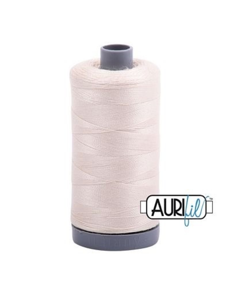 Aurifil 28 wt. Quilting Thread-2000 Light Sand
