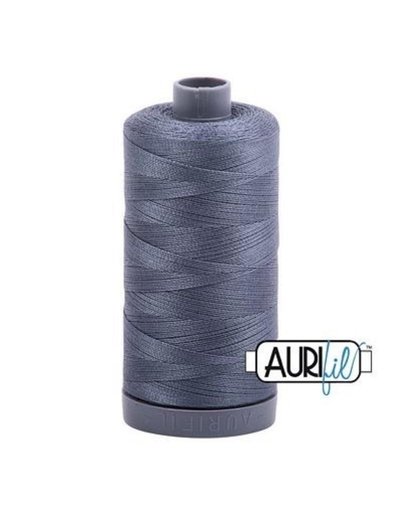 Aurifil 28 wt. Quilting Thread-1246 Gray