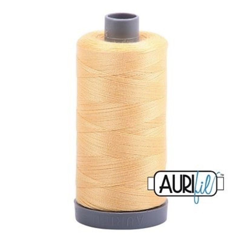 Aurifil 28 wt. Quilting Thread-2130 Medium Butter