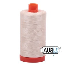 Aurifil 50 wt. Piecing Thread-2000 Light Sand