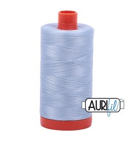 Aurifil 50 wt. Piecing Thread-2710 Light Robins Egg