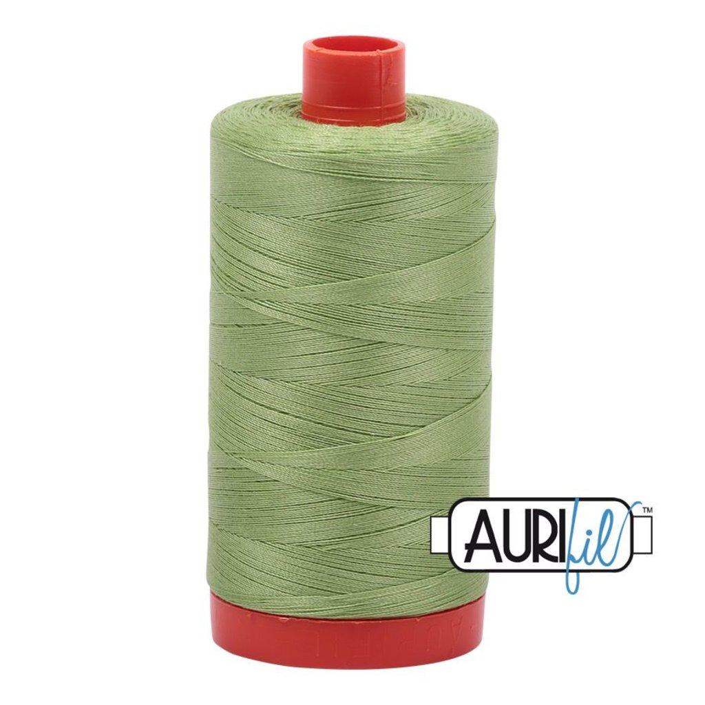 Aurifil 50 wt. Piecing Thread-2882 Light Fern