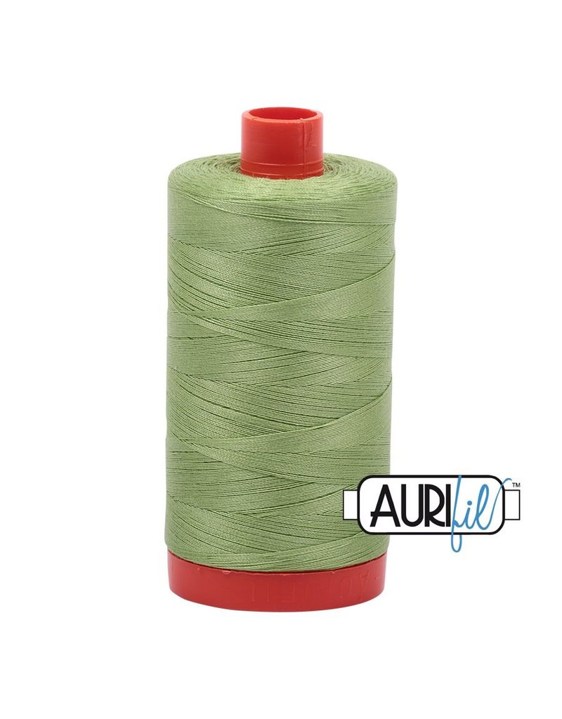 Aurifil 50 wt. Piecing Thread-2882 Light Fern