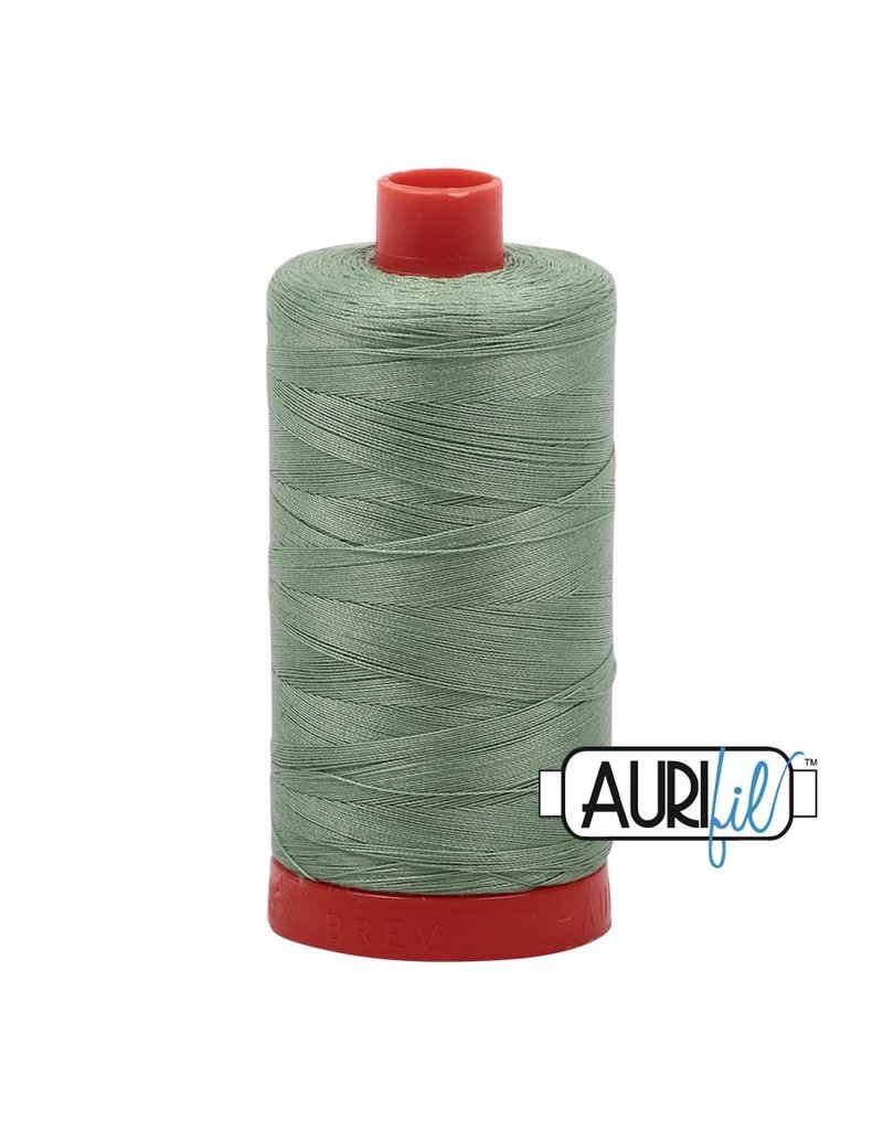Aurifil 50 wt. Piecing Thread-2840 Loden Green