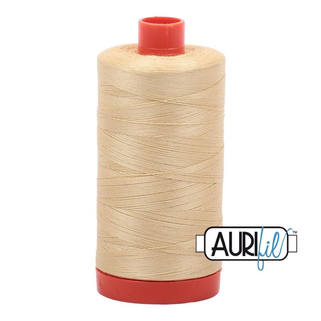 Aurifil 50 wt. Piecing Thread-2125 Wheat