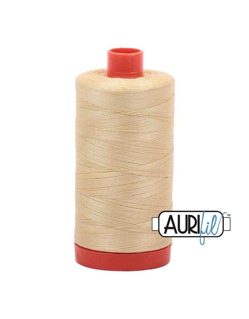 Aurifil 50 wt. Piecing Thread-2125 Wheat