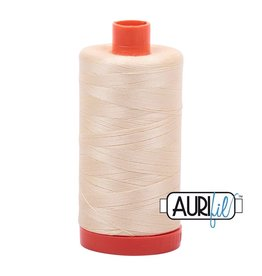 Aurifil 50 wt. Piecing Thread-2123 Butter