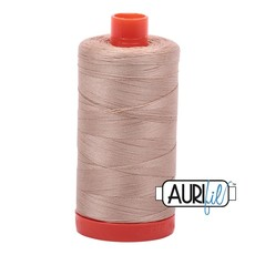 Aurifil 50 wt. Piecing Thread-2314 Beige
