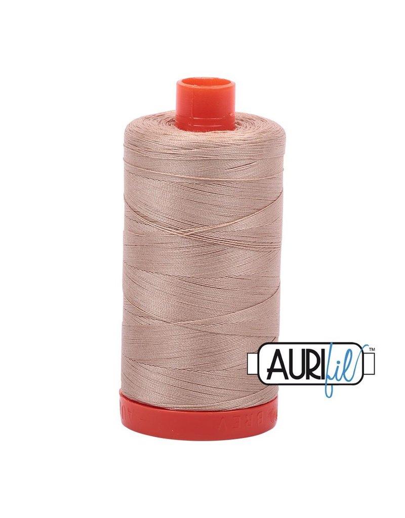Aurifil 50 wt. Piecing Thread-2314 Beige