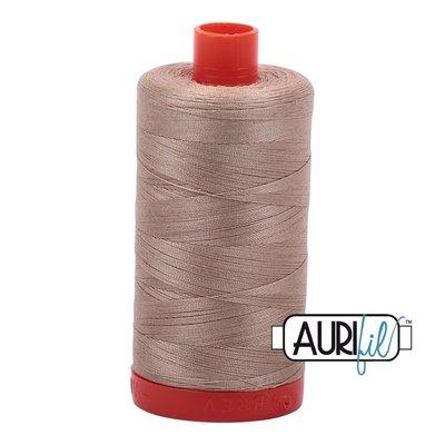 Aurifil 50 wt. Piecing Thread-2326 Sand