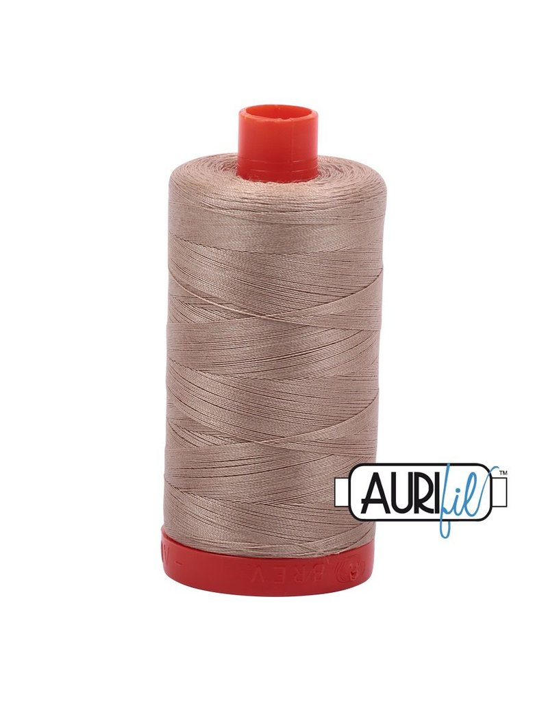Aurifil 50 wt. Piecing Thread-2326 Sand